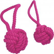 Throwing ball with strap, lilac - 3 different sizes